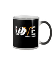 Love Hockeymom Color Changing Mug tile