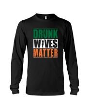 Drunk Wives Matter Long Sleeve Tee thumbnail