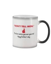 Don't Tell Mom Color Changing Mug thumbnail