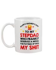 Medal For Putting Up With Mug back