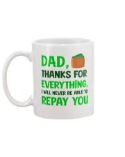 Never Be Able To Repay You Mug back
