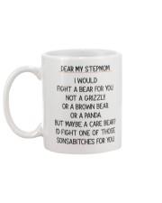 Dear My Stepmom Mug back