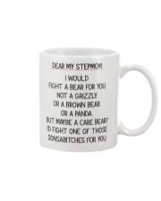 Dear My Stepmom Mug front