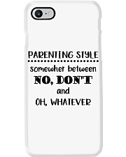 Parenting Style - somewhere between no don't Phone Case thumbnail