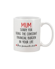 Constant Financial Burden Mug front