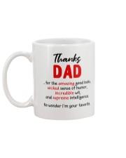 Thanks Dad  Mug back