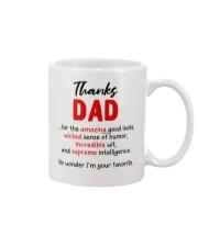 Thanks Dad  Mug front