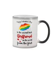 To The Second Best Girlfriend Color Changing Mug thumbnail