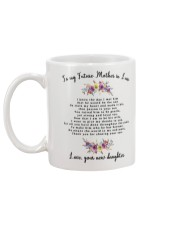 To My Future Mother-in-law Mug back