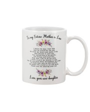 To My Future Mother-in-law Mug front