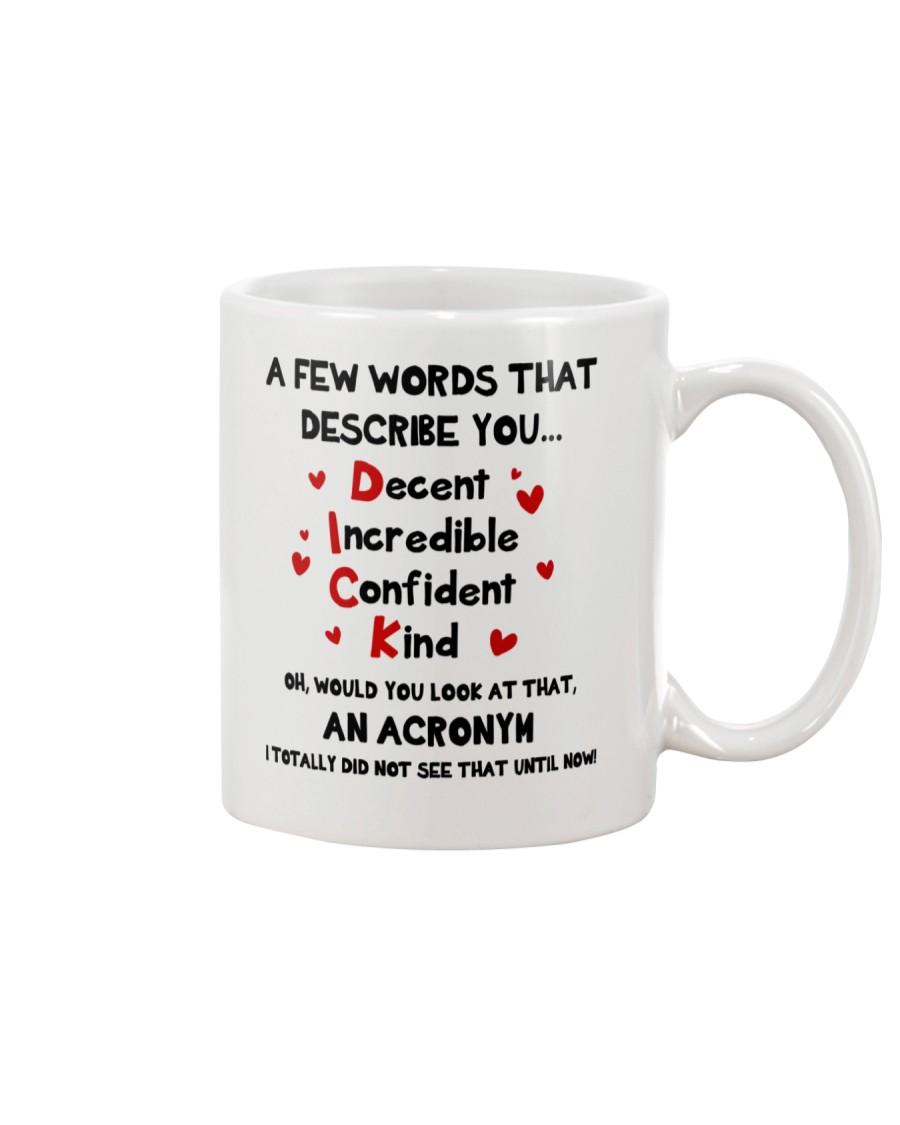 Dick Acronym Mug