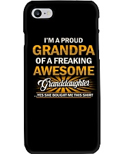 Proud Grandpa Of An Awesome Granddaughter Phone Case thumbnail