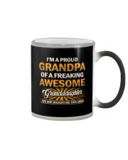 Proud Grandpa Of An Awesome Granddaughter Color Changing Mug thumbnail