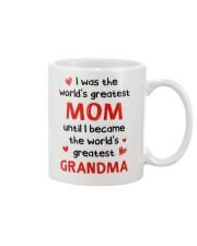 The World Greatest Grandma Mug front