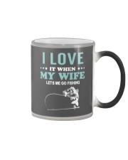 Love My Wife Fishing  Color Changing Mug thumbnail