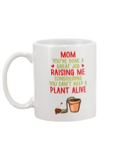 A Great Job Raising Me Mug back