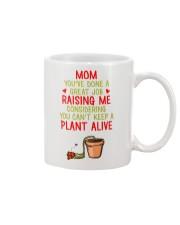 A Great Job Raising Me Mug front