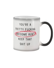 Pretty Awesome Aunt Color Changing Mug thumbnail