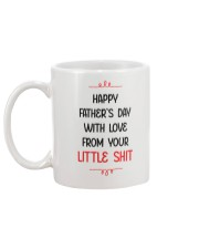 Love From Little Shh Mug back