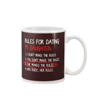Rules For Dating My Daughter Mug thumbnail