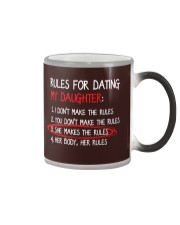 Rules For Dating My Daughter Color Changing Mug thumbnail