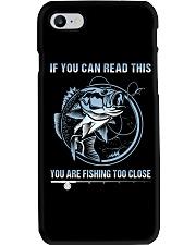 Fishing Too Close Phone Case thumbnail