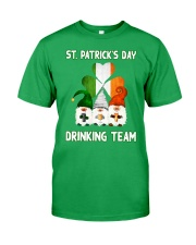 St Patrick Day Drinking Team  Classic T-Shirt front