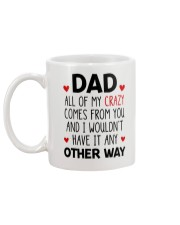 My Crazy Comes From You Mug back