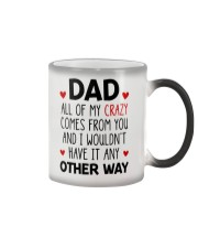 My Crazy Comes From You Color Changing Mug thumbnail