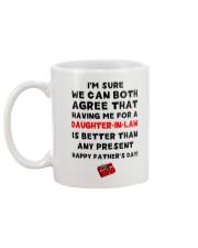 Having Me For Daughter-in-law Mug back