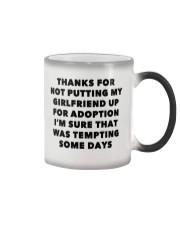 Putting Up For Adoption Color Changing Mug thumbnail