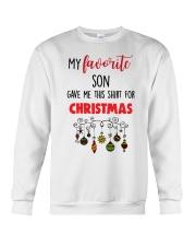My Favorite Son Gave Me This Crewneck Sweatshirt thumbnail