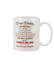 My Number One Man  Mug front