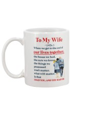 My Wife Get To The End Of Lives Mug back