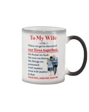 My Wife Get To The End Of Lives Color Changing Mug thumbnail