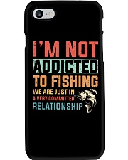 Not Addicted To Fishing  Phone Case tile