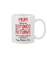 Mum Stuck With Me Mug front