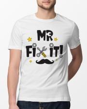 Mr Fix It Classic T-Shirt lifestyle-mens-crewneck-front-13