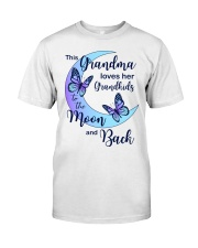 Grandkids Moon And Back Classic T-Shirt thumbnail