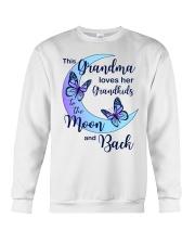 Grandkids Moon And Back Crewneck Sweatshirt thumbnail