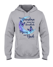 Grandkids Moon And Back Hooded Sweatshirt front
