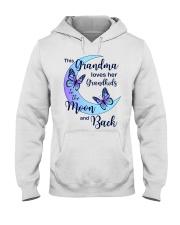 Grandkids Moon And Back Hooded Sweatshirt tile