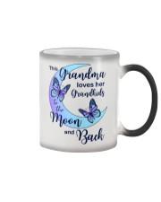 Grandkids Moon And Back Color Changing Mug thumbnail