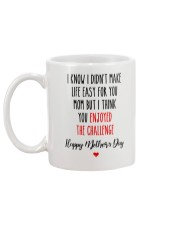 Mom Enjoy Challenge Mug back