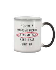 Handsome Awesome Dad Color Changing Mug thumbnail