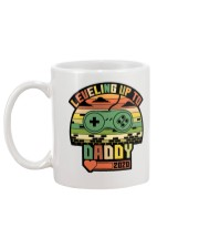 Leveled Up To Dad 2020 Mug back