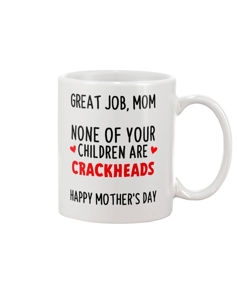 No Crackheads Mug