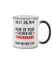 No Crackheads Color Changing Mug thumbnail