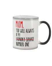 Mom Laundry Service Color Changing Mug thumbnail