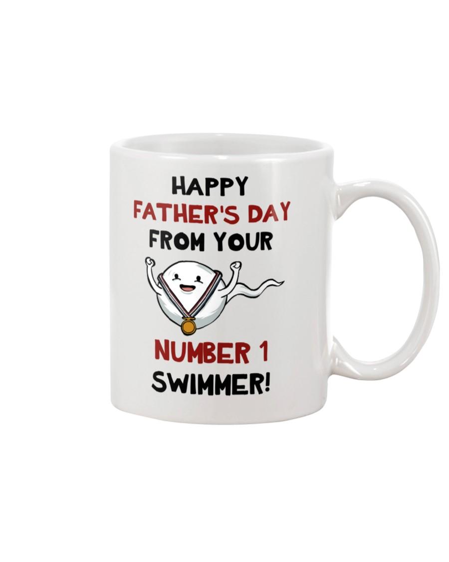 No 1 Swimmer Mug